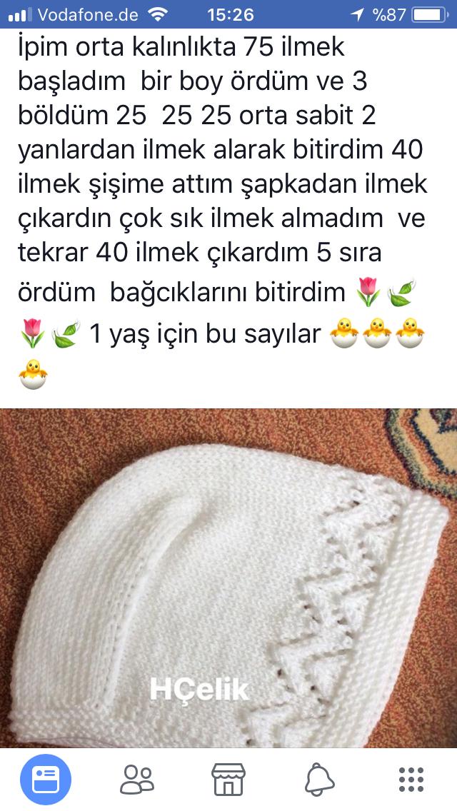 Pin by Nurşen Ülger on örgü | Ropa bebe, Gorro tejido, Bebe