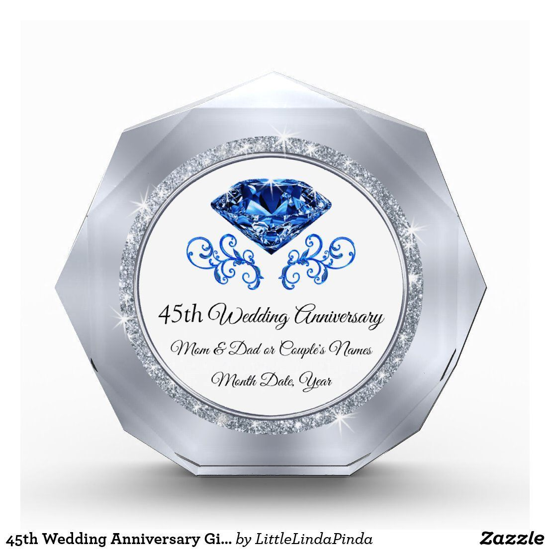 45th wedding anniversary gift ideas for parents in 2020