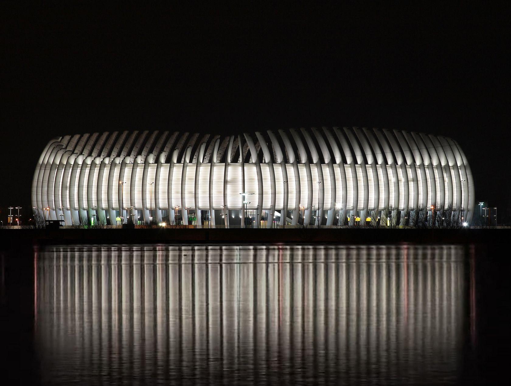 Architizer Arena Zagreb Zagreb Illuminated Architecture World Architecture Festival