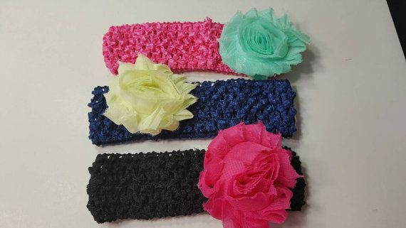 Check out this item in my Etsy shop https://www.etsy.com/listing/293681731/baby-girl-headbands-with-flower-super