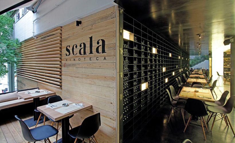 Scala Wine Bar #reatil #design #interiors #bar