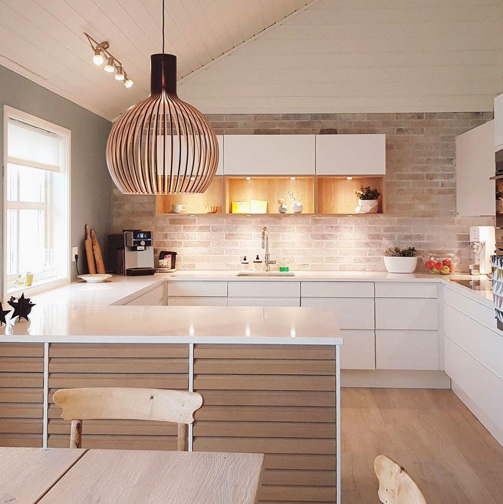 Scandinavian Style Kitchen Design: 15 Astounding Scandinavian Kitchen Designs You'll Adore