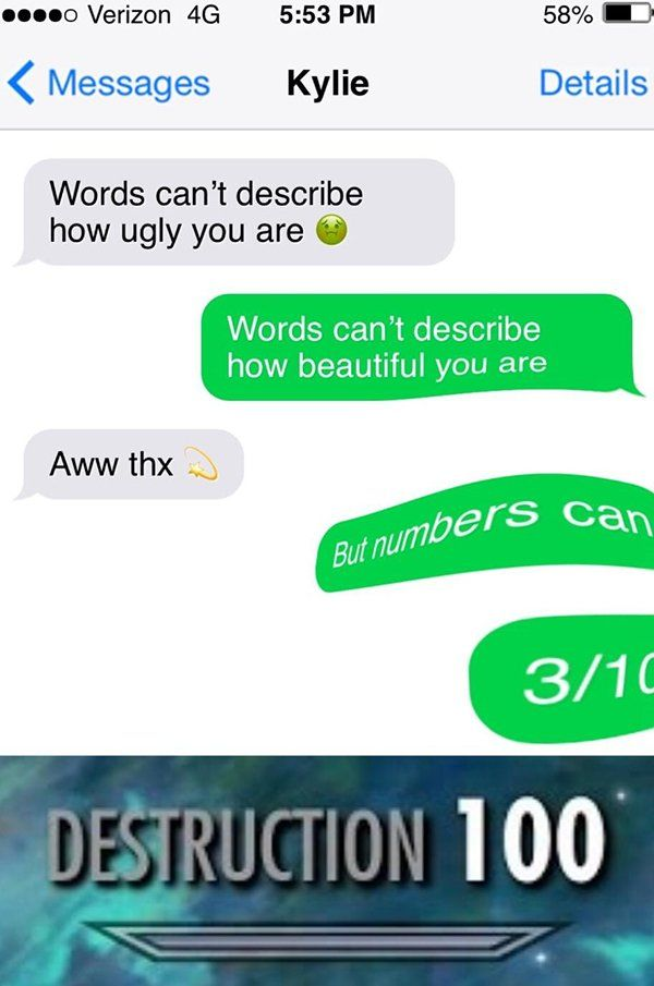 Latest Funny Texts 37 Savages Who Clapbacked So Hard It Left a Mark 37 Savages Who Clapbacked So Hard It Left a Mark 5
