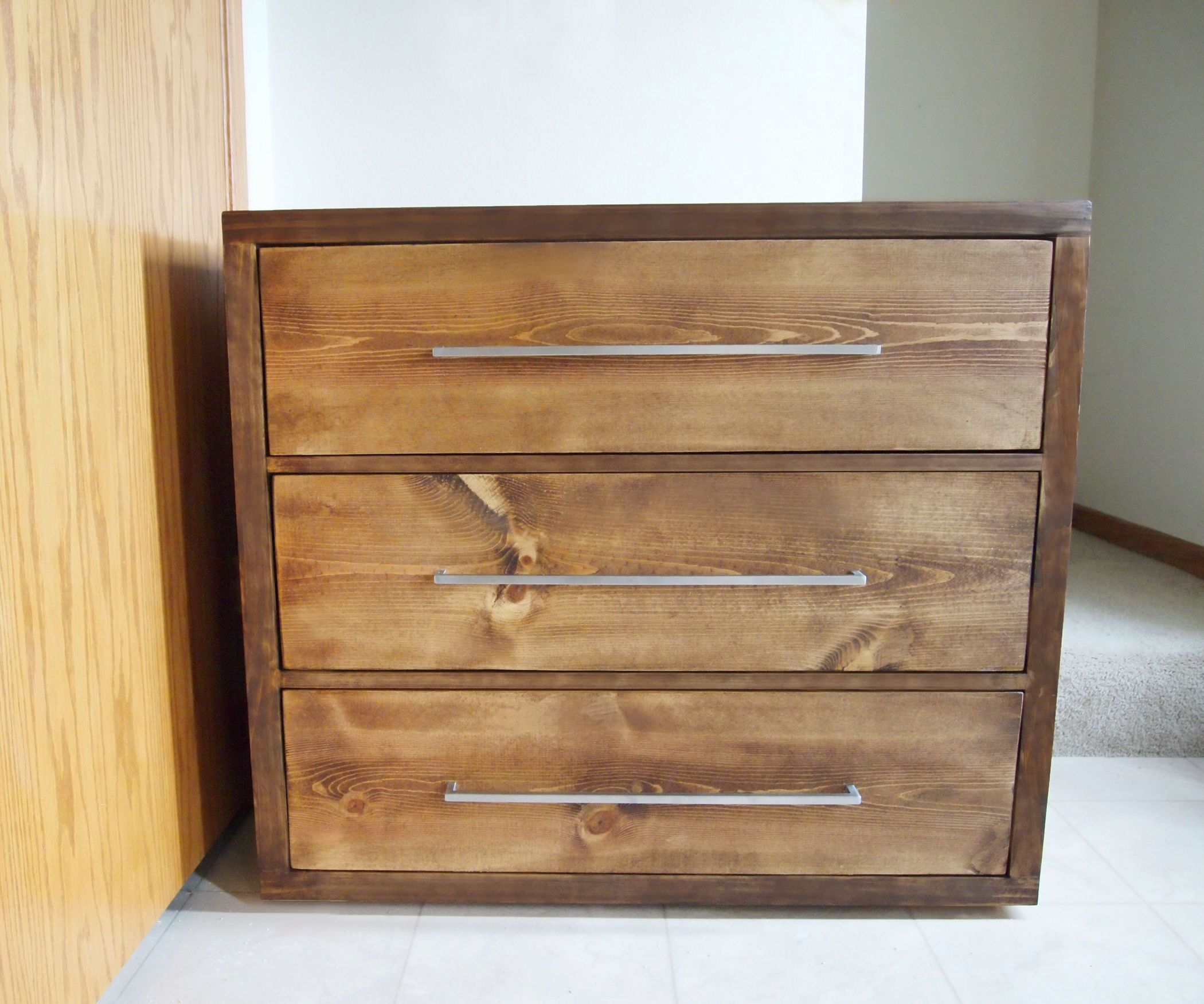 How To Build A Modern Dresser With Few Tools Diy Dresser Build