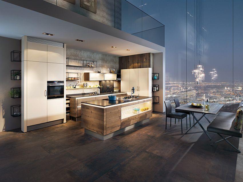 Breitschopf macht ihre küche → barrique alteiche grey ausstellungsküche designerküche designerküchen einbauküche holzküche küche