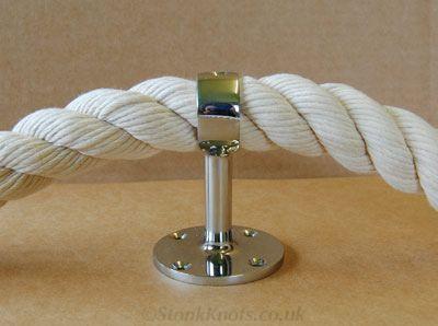 Best Stair Rope Fittings Diy Stairs Small Luxury Bathrooms 400 x 300