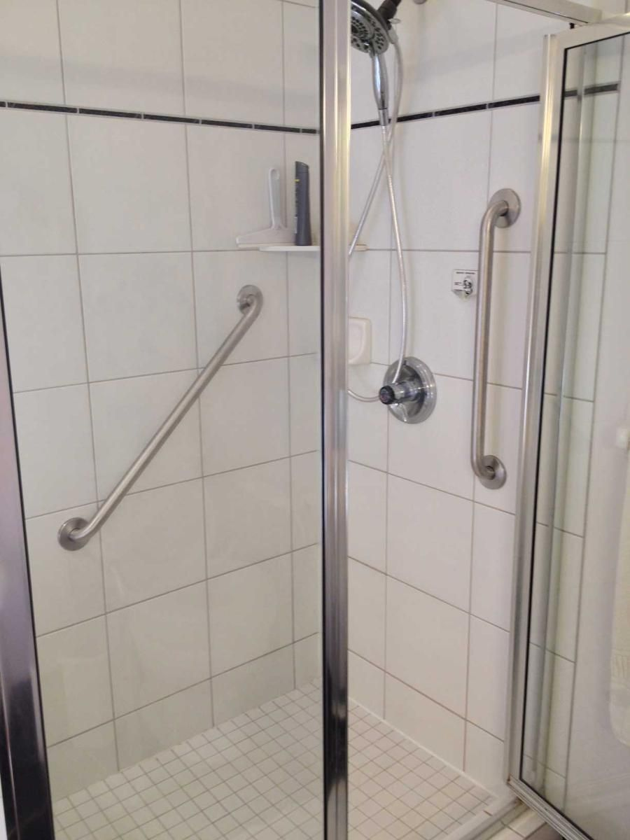 shower safety in for bar bars bathroom ecavani low info elderly threshold grab seniors