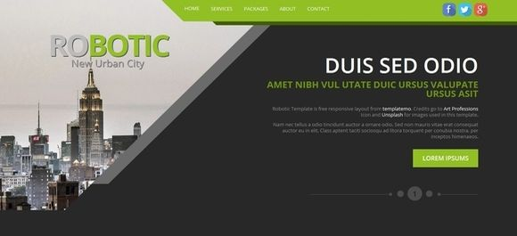 Share this on 30 Best Free Responsive HTML5 CSS3 Website Templates ...