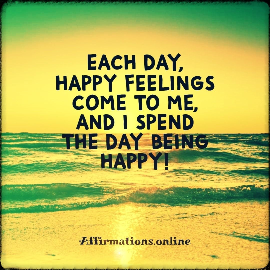 Happiness Affirmations In