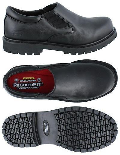 fb90ad64df5 Occupational 11501: Skechers Cottonwood Elks Slip On Shoe Leather ...