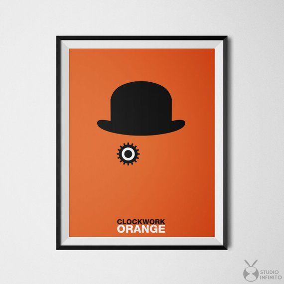 Clockwork Orange Poster Print Alex