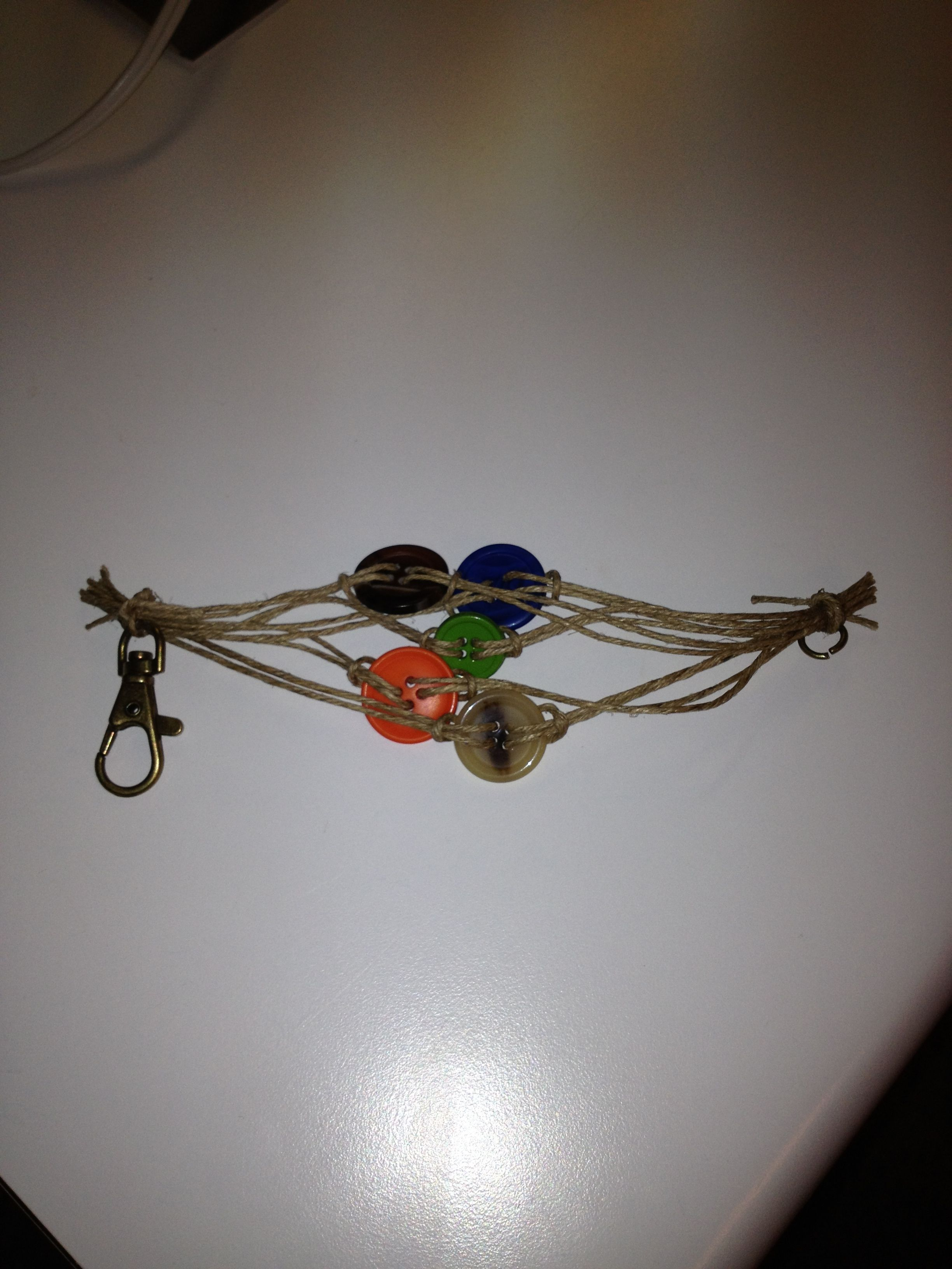 Diy buttonhemp bracelet jewellery pinterest diy buttons hemp