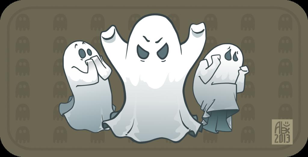 Halloween Citrouilles et fantômes Pumpkins and Ghosts