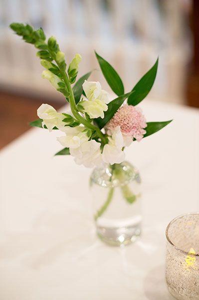 Lanson B. Jones Floral + Events | Megan Chandler floral designer | #macfloraldesigns | RaeTay Photography | blush bud vases