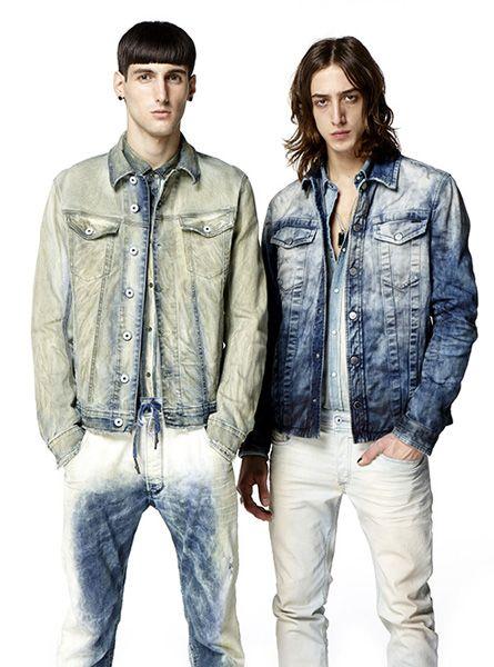 Total jeans para o masculino.