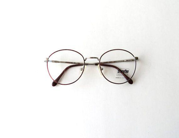 9415e834dba9 I wish I needed glasses.  P Thin Round Frames Hipster Glasses   Clear Lenses  No Prescription   Steroflex Made in Italy   Circa 1990 s