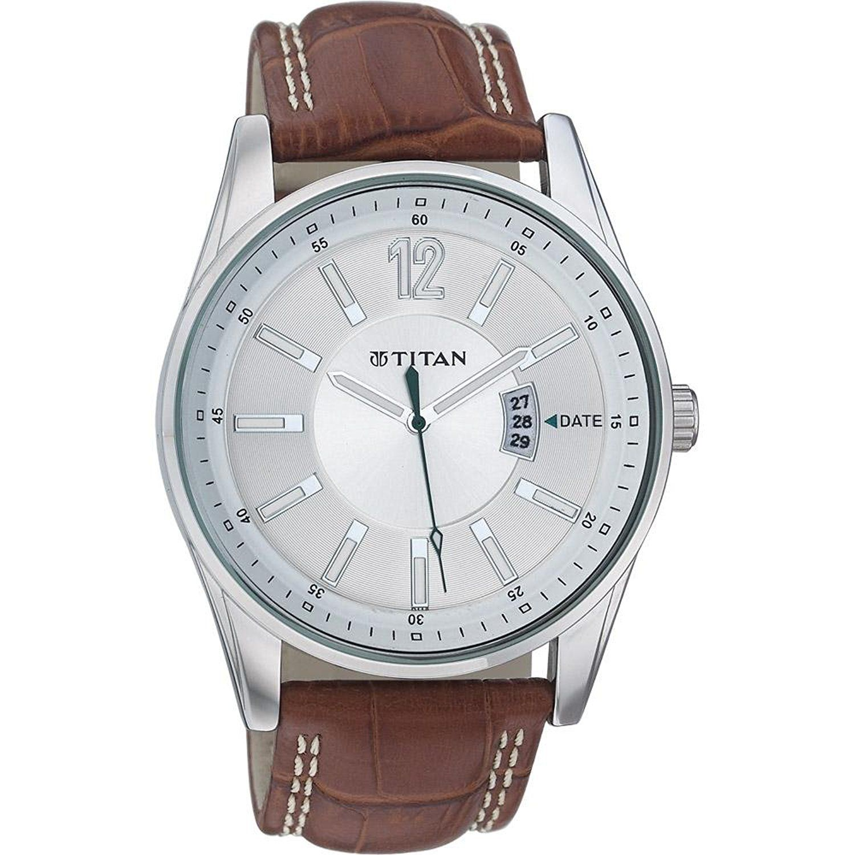 Buy Titan Octane Analog Silver Dial Men's Watch