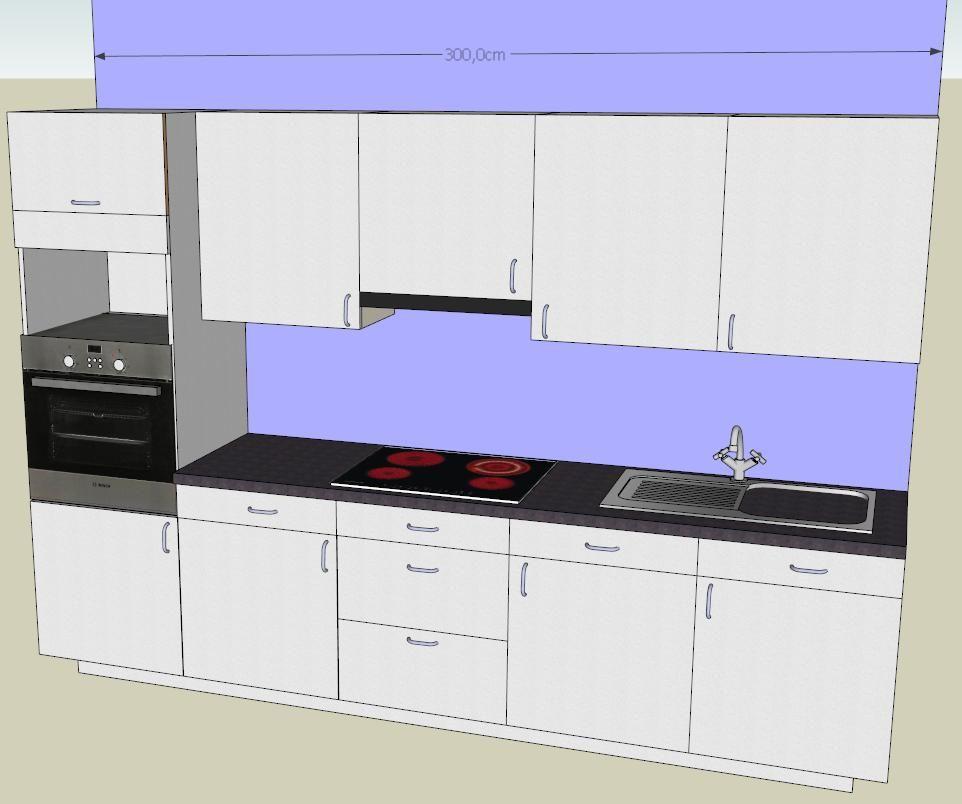 R sultat de recherche d 39 images pour cuisine 3 m lineaire d co en 2019 lineaires deco et - Cuisine 3m de long ...