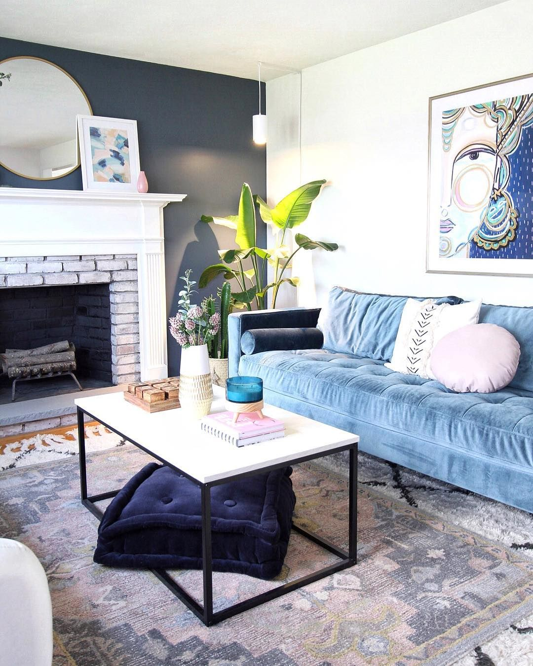 Pin by Johanna Miller on Living Room Dark and Whimsical ...