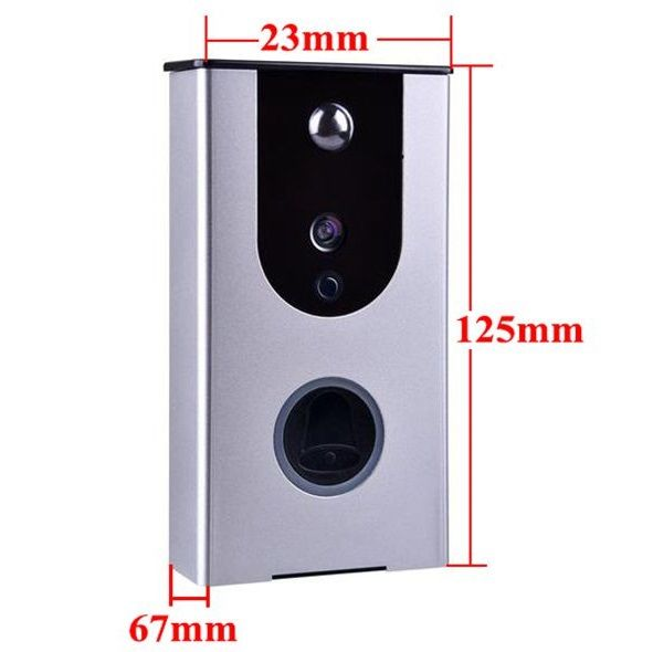prodcutimage Ring video doorbell, Bell button, Pro camera