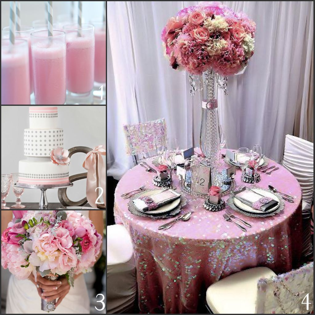 Wedding In Pink And Gray Ideas 2014 Someday This Will Be Me