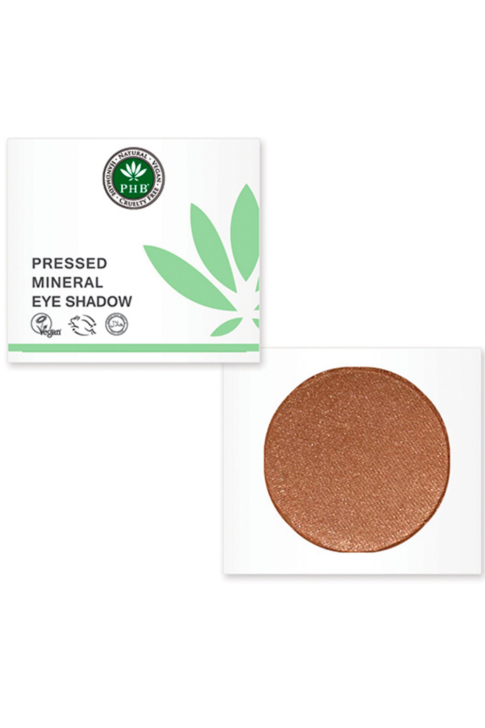 PHB Ethical Beauty Pressed Mineral Eyeshadow Chestnut 3g