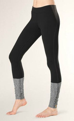 Channel your inner Flashdance with these funky Yoga Maniac Leggings ($89). I love that the print at the bottom looks like cozy leg warmers.