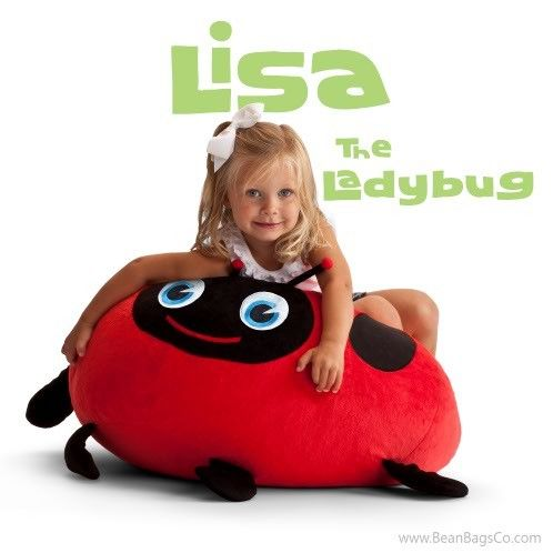Comfort Research   Bean Bagimals   Lisa The Ladybug Bean Bagimal | $54.99  ON SALE ; FREE Shipping; No Sales Tax~