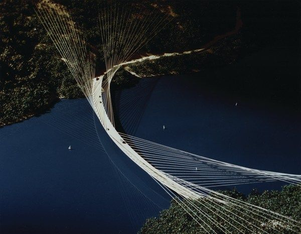 Designed to cross a planned reservoir, the Ruck-a-Chucky bridge would have been a marriage of architecture and engineering