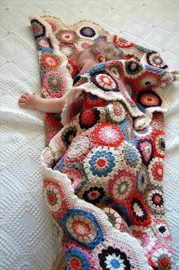 15 Free Crochet Baby Blanket Patterns Crochetcross Stitch