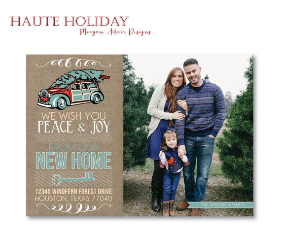 Personlized Photo Christmas Card Customized To Match Your Photo