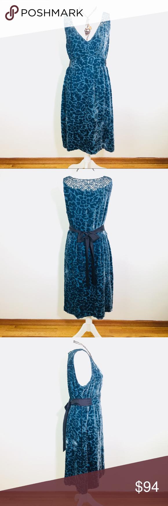 f57696ab678 ANTHROPOLOGIE MOULINETTE SOEURS DRESS Size 12