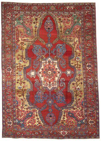 Persian Bakshaish rug, late 19th c .