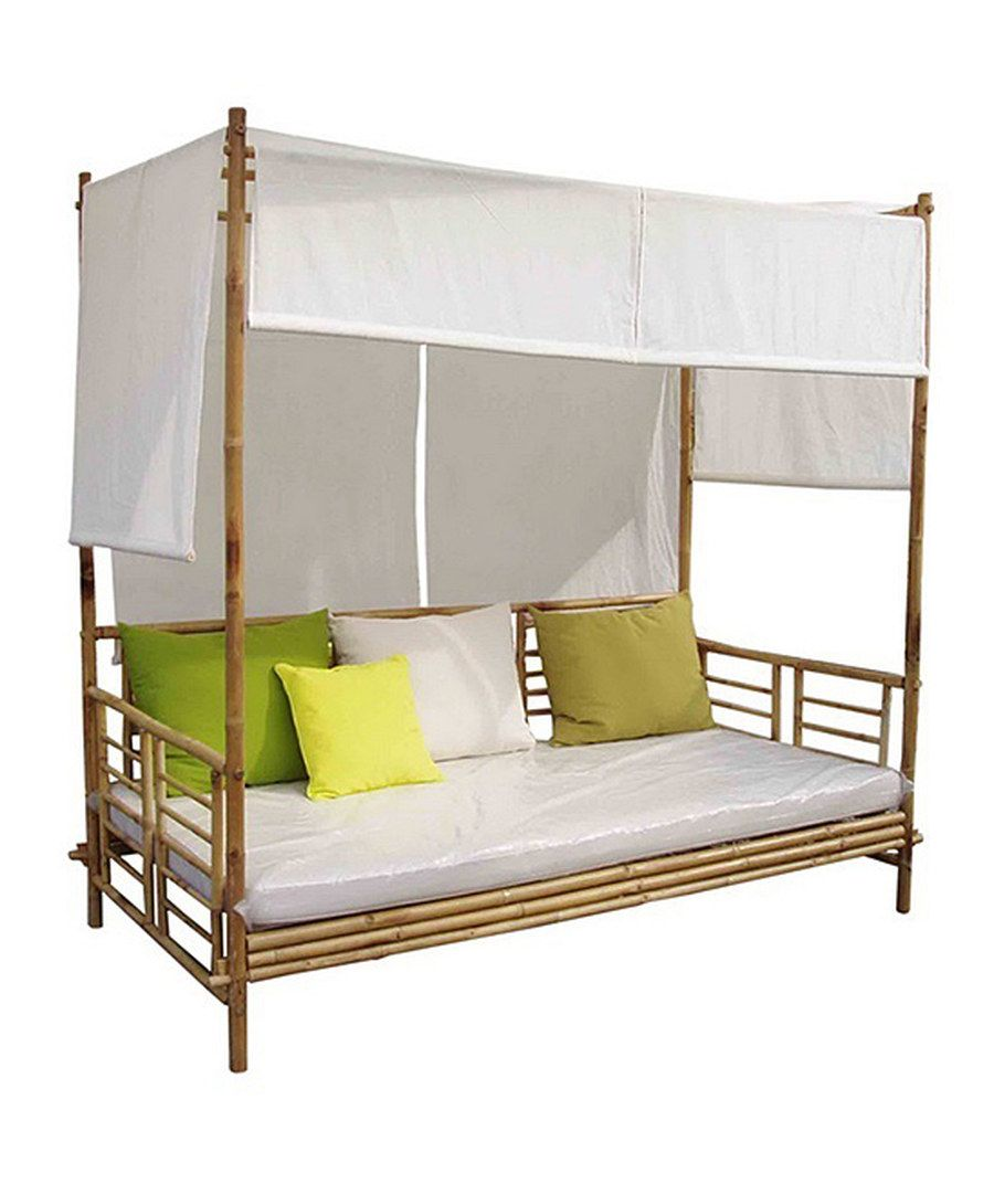 Bamboo day bed outdoor living pinterest outdoor decor and