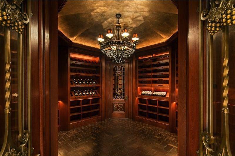 4000 Bottle Wine Cellar At The Stone Mansion In Alpine Nj Stone
