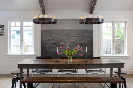 15 ideen fr esszimmer interieur design in rustikalem schick wohnen pinterest rustikal esszimmer und sitzbank holz