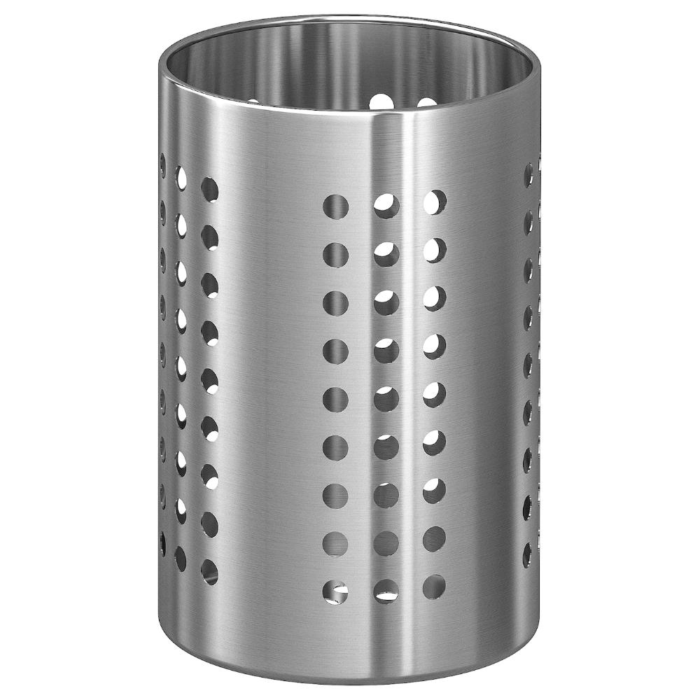 ORDNING Utensil holder - stainless steel (CA) - IKEA  Kitchen