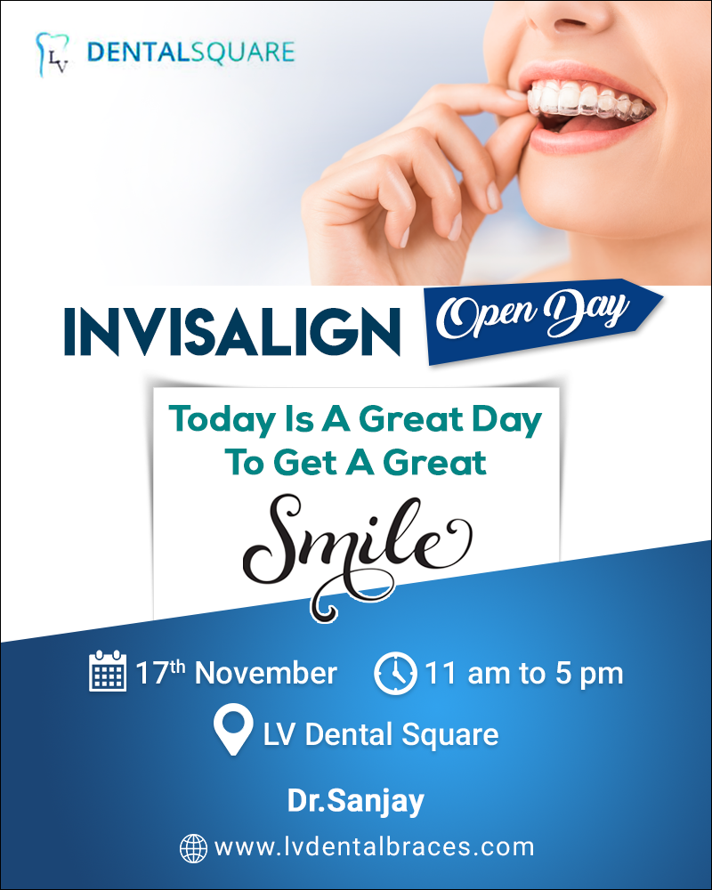 Open Day People Come For Invisalign Will Get Complimentary 3d Scanning Scaling Date 17th November Time 11 A Invisalign Dental Braces Dental Treatment