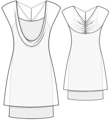 Kleid, Muster | Bär | Pinterest | Muster und kostenlose Muster