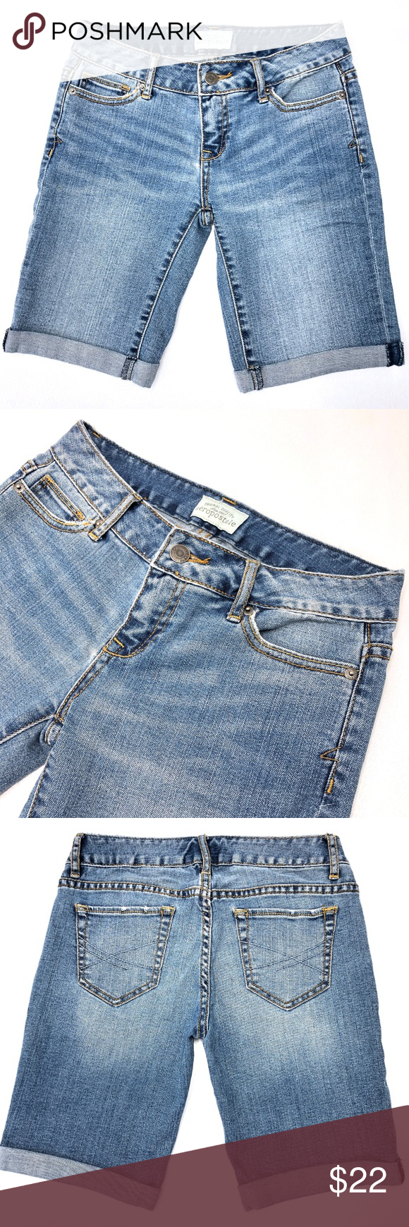 8da5b418b3 Aeropostale Shorts size 0 The perfect go-to shorts this summer! Pairs with  everything! Excellent Condition, no apparent flaws! Make me an offer!