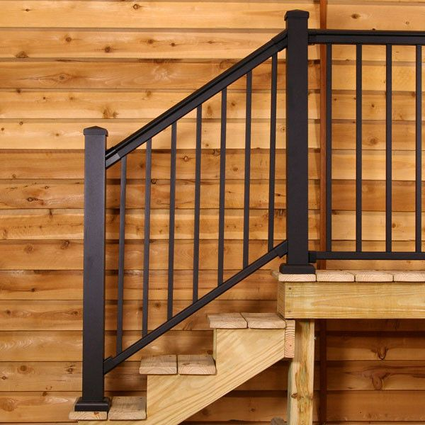 Best Fixed Angle Stair Rail Kit By Afco Stair Railing Stair 400 x 300