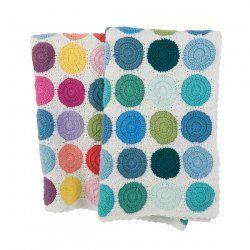 crochets dots blanket