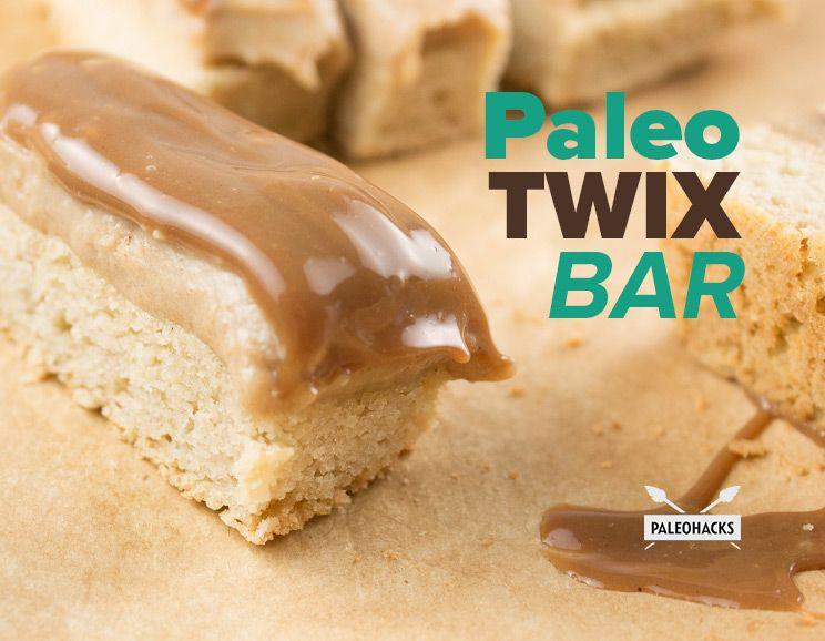 Paleo Twix Bar Recipe Paleo Sweets Coconut Flour Recipes
