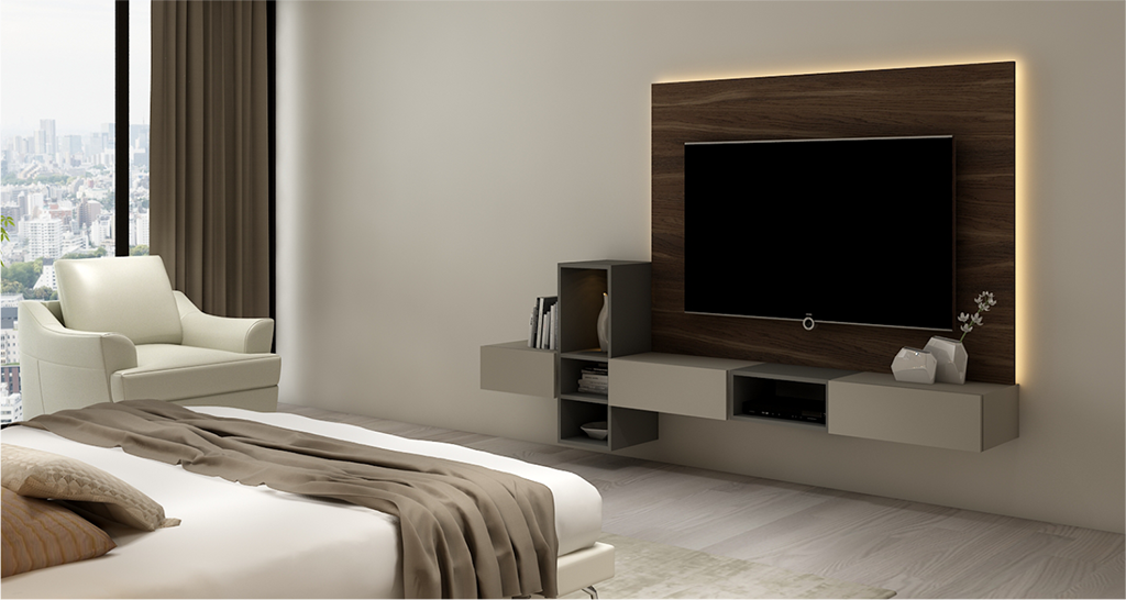 master bedroom design with tv Update Your Space! Shop ...