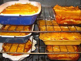 The Full Plate Blog: Big batch of enchiladas...