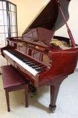 Gorgeous Red Mahogany Piano http://pinterest.com/cameronpiano