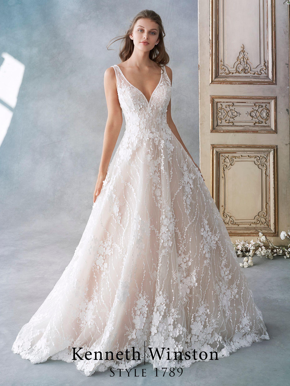 Kenneth Winston Brautkleider #bridalshops