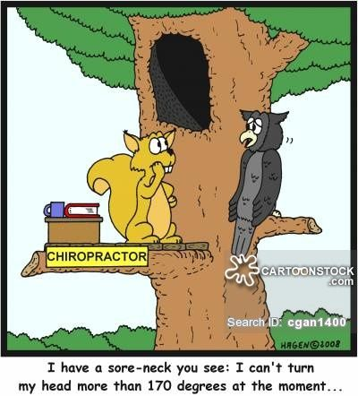 Image result for neck comic Chiropractic humor, Sore