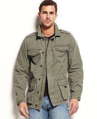 acb22f346aca6 Lucky Brand Jeans M65 Field Jacket - Coats & Jackets - Men - Macy's ...
