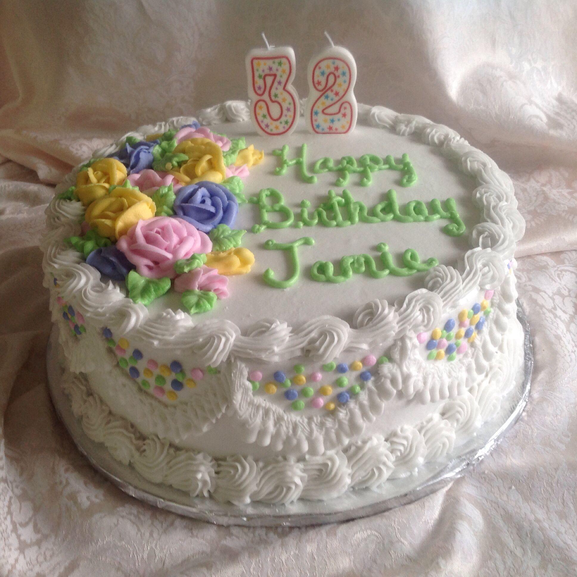 Jamies 32 Birthday Cake A Few Of The Goodies I Make Pinterest